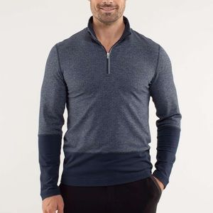 Lululemon Herringbone Speed 1/2 Zip Pullover